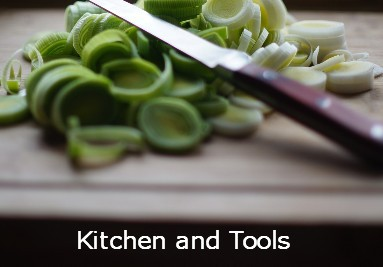 kitchen and tools